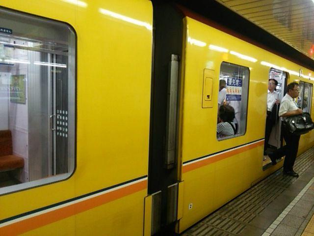 黄色い銀座線