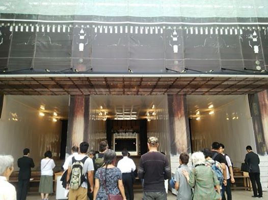 明治神宮本殿改修
