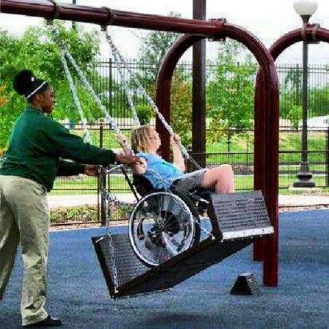車椅子ブランコ