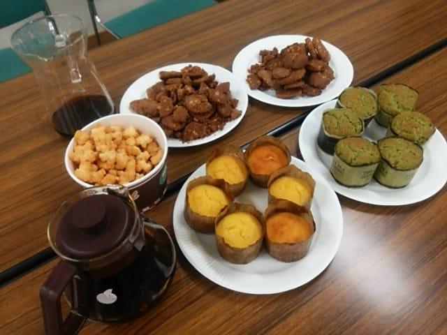 ありがたCafe抹茶ケーキ