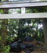 大神神社「磐座」in 横浜・伊勢山皇大神宮